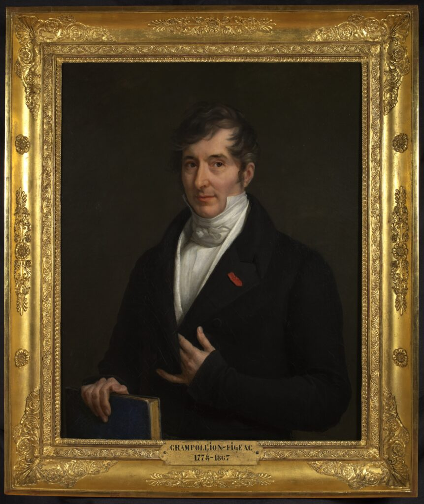 Madame de Rumilly, Jacques-Joseph Champollion-Figeac, vers 1825