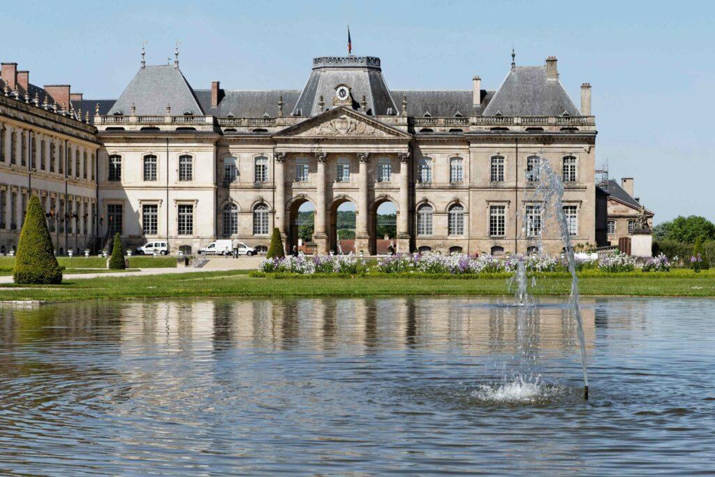 Parc des bosquets, Château de Lunéville
