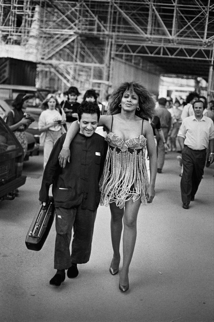 Peter Lindbergh, Azzedine Alaïa et Tina Turner, 1989