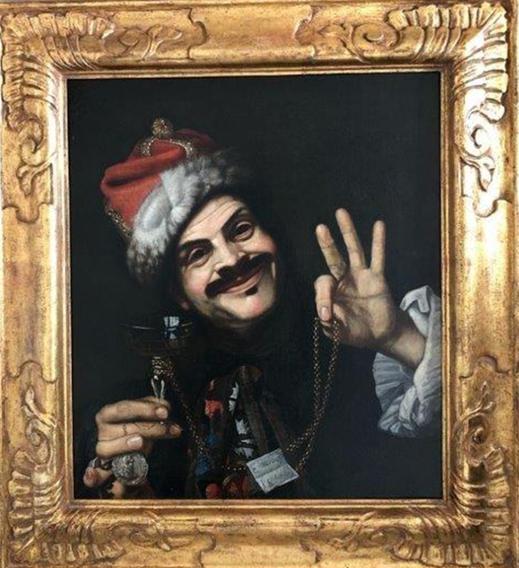 Portrait abandonné attribué à Pietro Bellotti