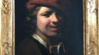 Portrait abandonné attribué à Samuel van Hoogstraten