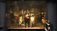 Rijksmuseum - De Nachtwacht - installatie van de missende delen
