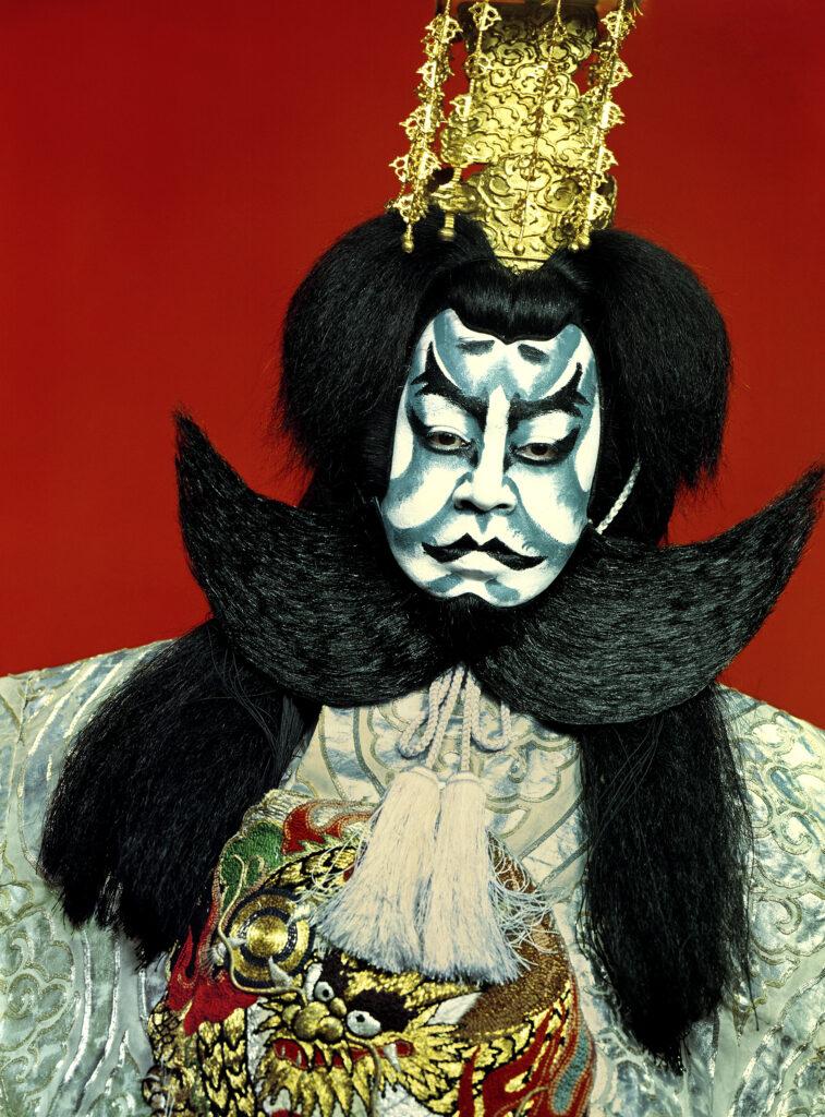 Shōmei Tōmatsu, Kabuki Villain in Shibaraku, 1964