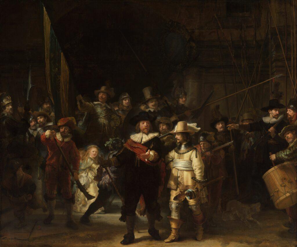 La toile de Rembrandt conservée au Rijksmuseum