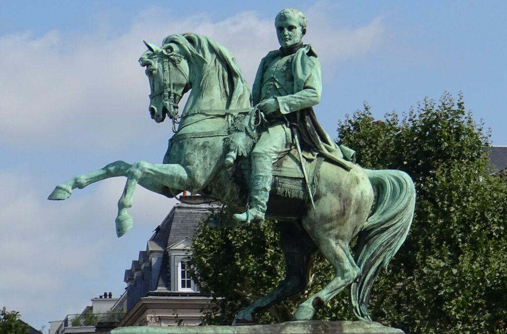 Statue équestre de Napoléon Ier à Rouen