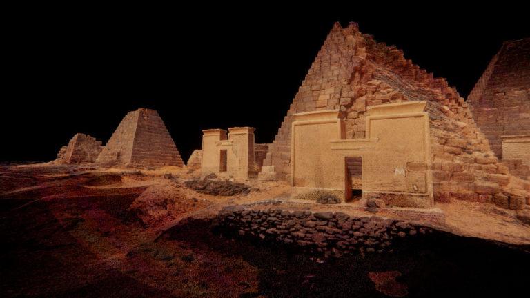 Projection immersive : Kandaka et les pharaons noirs