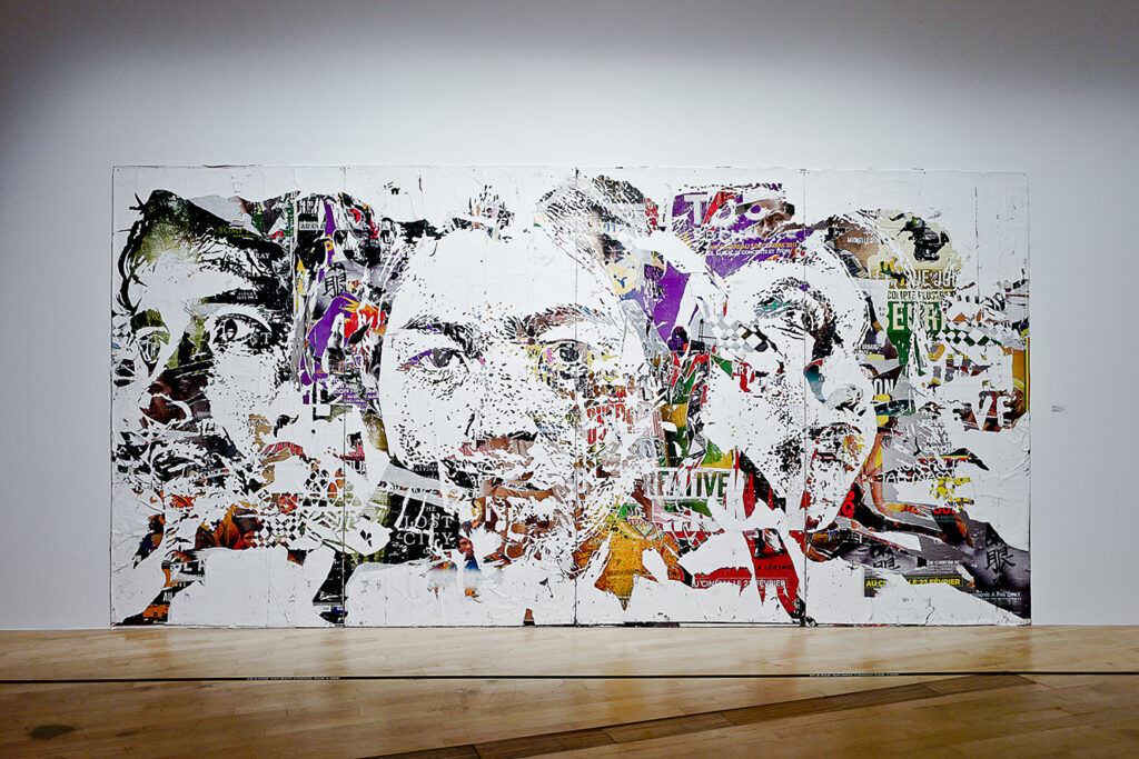 Vhils, Fondations View from Art From The Streets