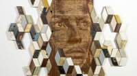 Vhils Orderliness series #05 Courtesy Danysz gallery
