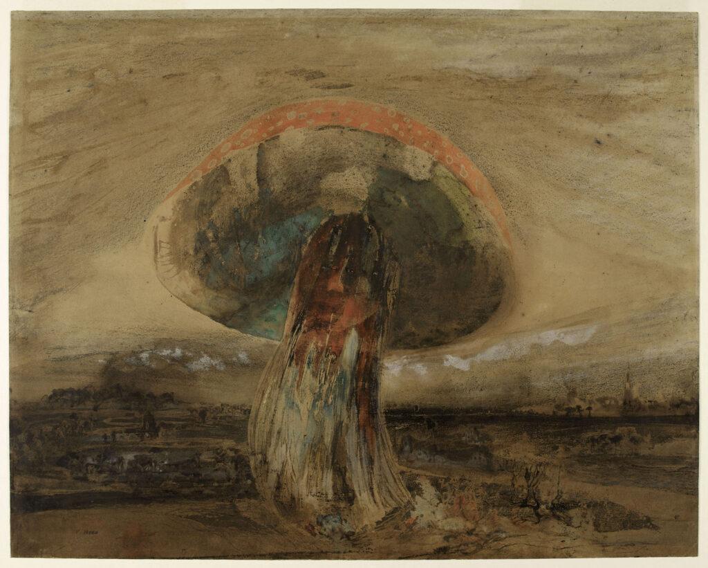 """Victor Hugo. """"Champignon"""", 1850."""