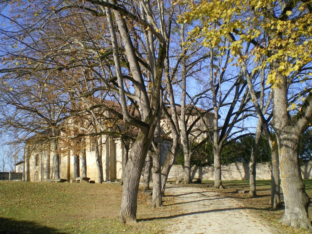 Vue de l'Abbaye de Flaran