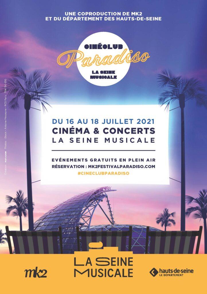 Affiche Cinéclub Paradiso