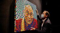 Dalai Lama Rubik's cube Invader