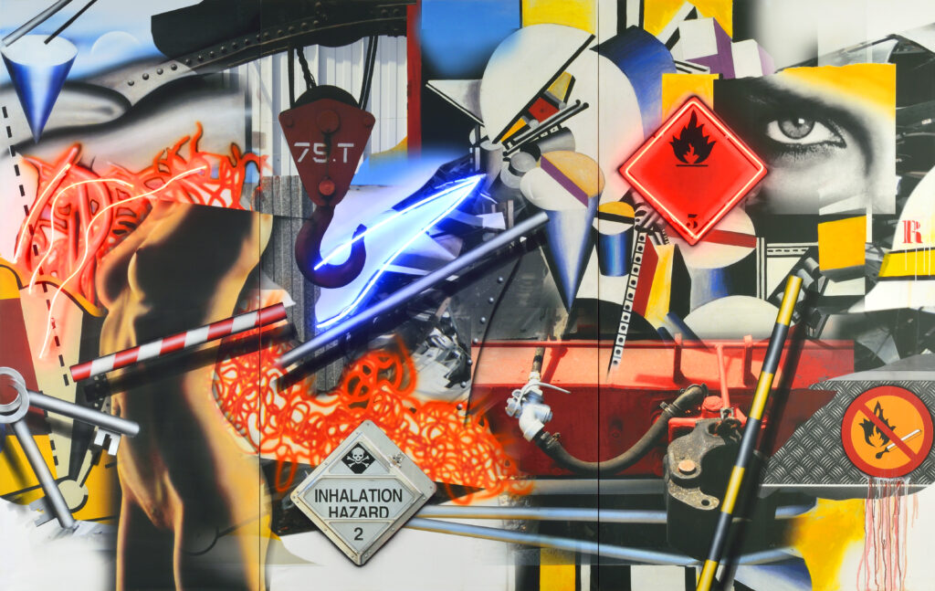 Peter Klasen, Hommage à Fernand Léger