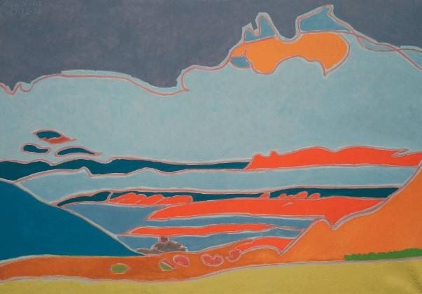 Henri Landier, Cocher de soleil sur les îles, 2009