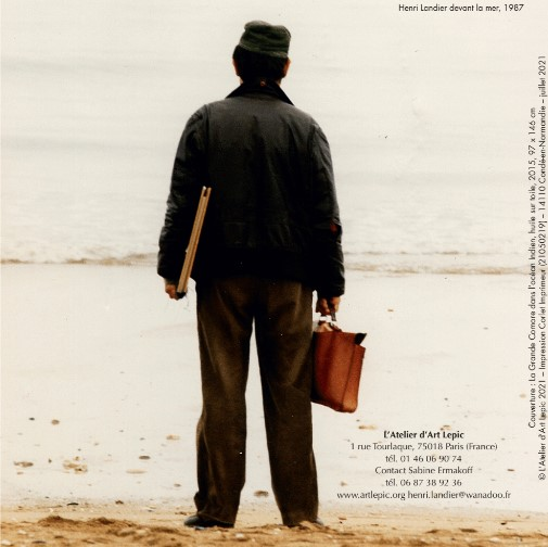 Henri Landier, Henri Landier devant la mer, 1987