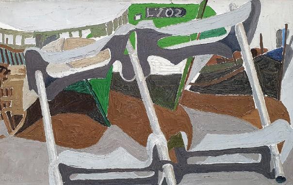 Henri Landier, L702 sur cales