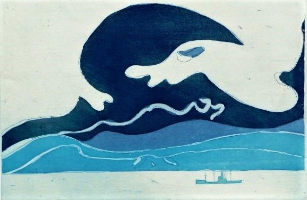 Henri Landier, La vague bleue
