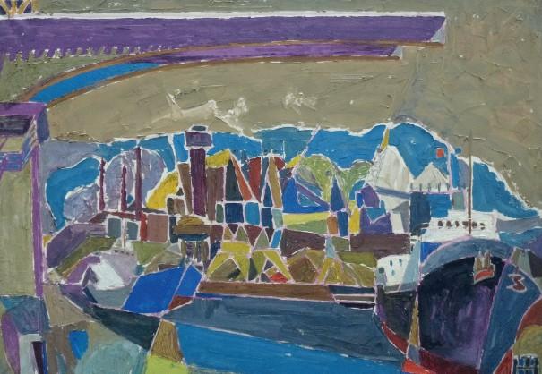 Henri landier, Le port de Rotterdam