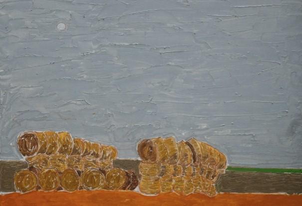 Henri Landier, Les meules, 1989
