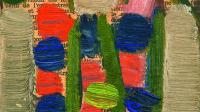 Jean-Michel Coulon, huile sur toile, 1970+