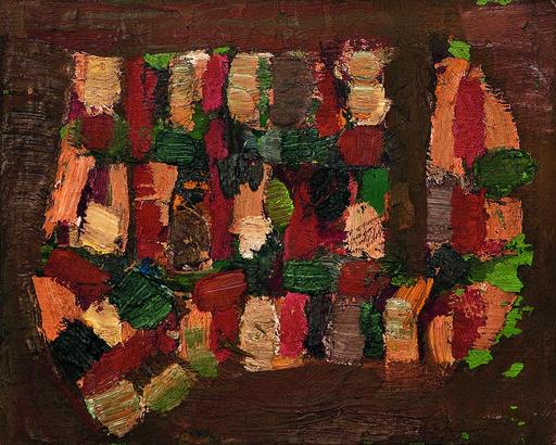 Jean-Michel Coulon, huile sur toile, vers 1960