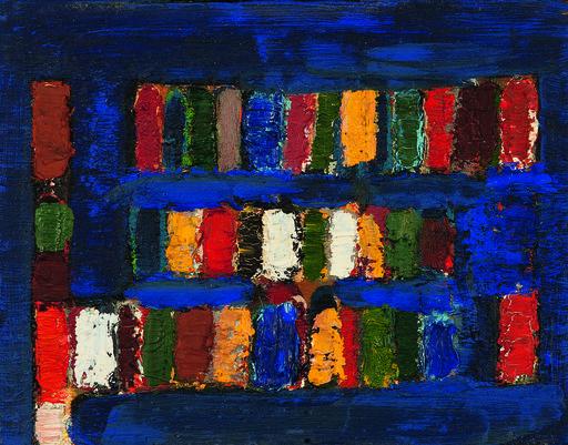 Jean-Michel Coulon, huile sur toile,1970+