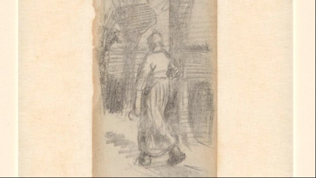Marque-page zoomé, Van Gogh