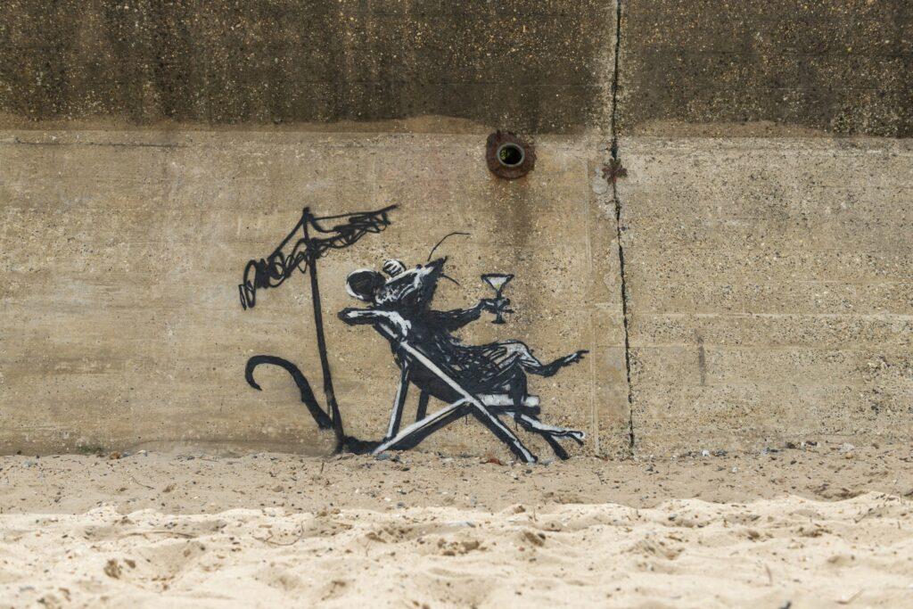 Banksy (autoportrait ?)