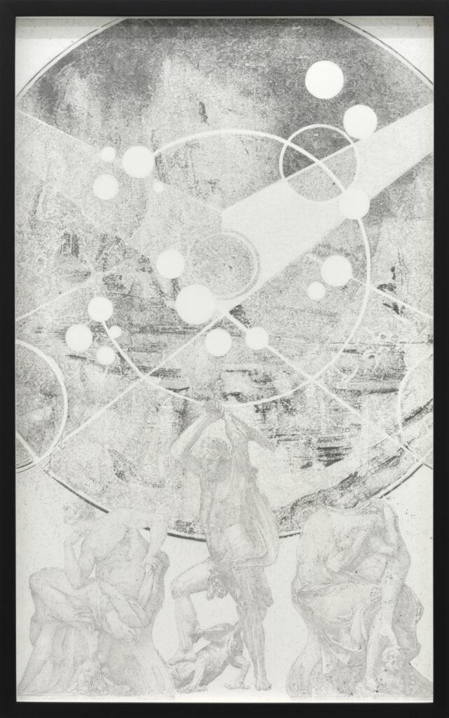 Jean BEDEZ, Constellation du dragon, 2019