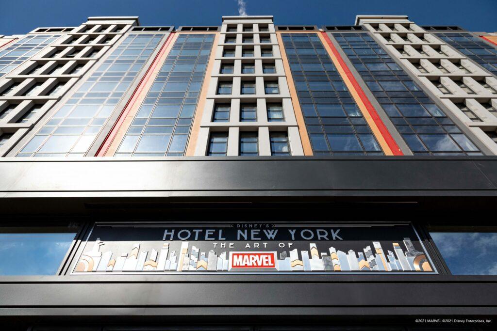 Disney's Hotel New York – The Art of Marvel, façade
