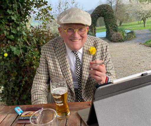 David Hockney in Normandy, April 1st 2021