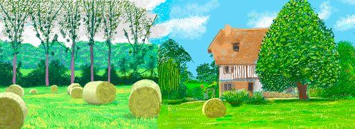 David Hockney, Une année en Normandie, 2020 (détail) (3)