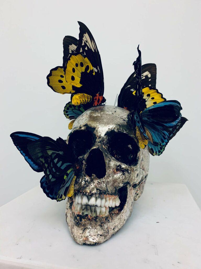 Vanité aux papillons