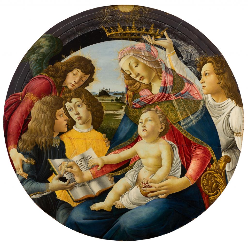 Atelier de Botticelli, Réplique de la Madone du Magnificat des Offices
