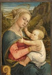 Fra Fillippo Lippi, Madone à l'enfant, 1460