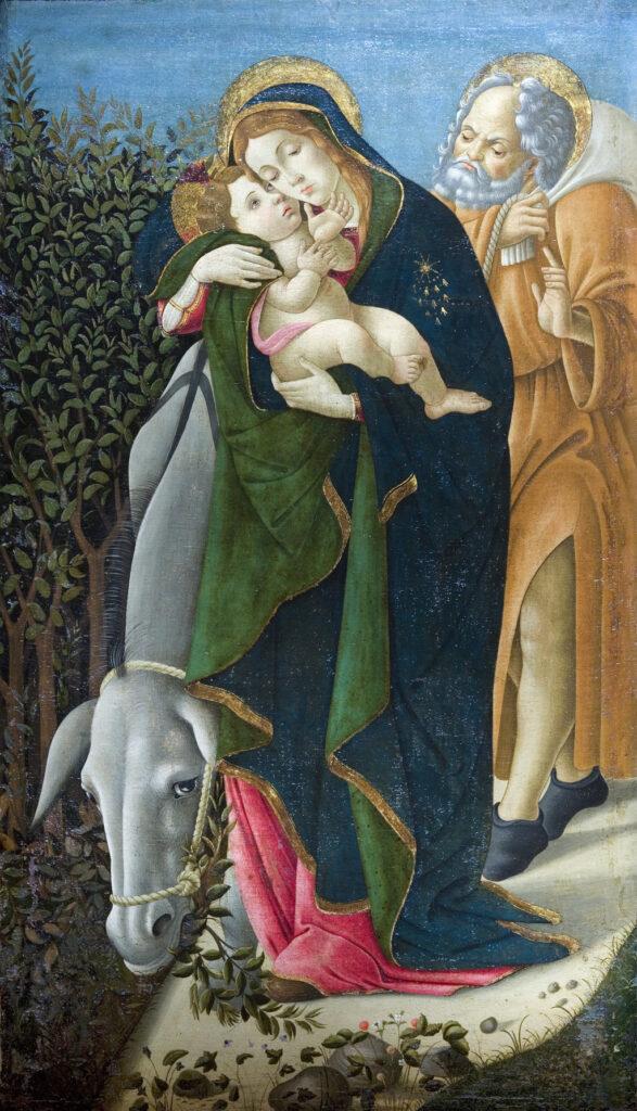 Sandro Botticelli, La Fuite en Egypte, 1510