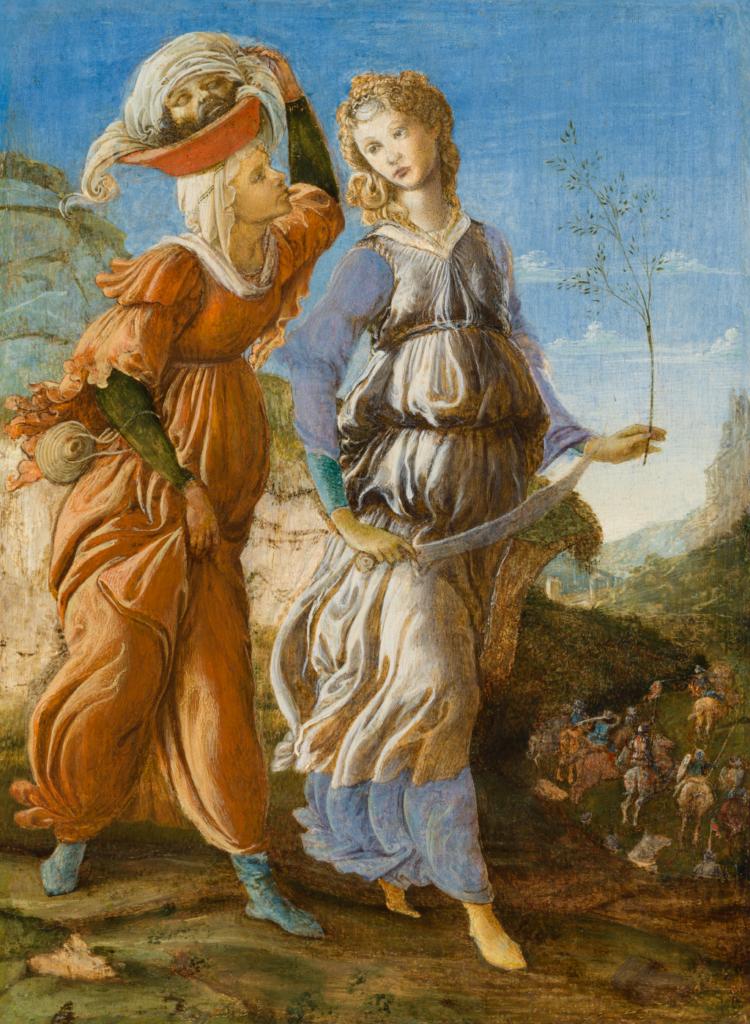 Sandro Botticelli, Le retour de Judith en Béthulie, 1469-1470