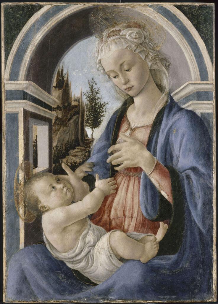 Sandro Botticelli, Madone Campana, 1467-1470
