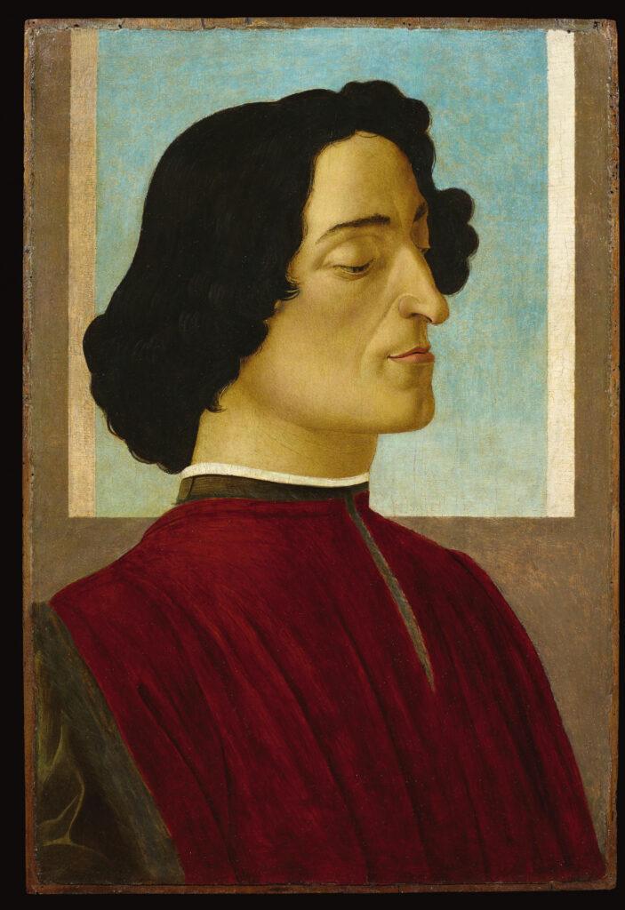 Sandro Botticelli, Portrait de Julien de Médicis, 1478-1480
