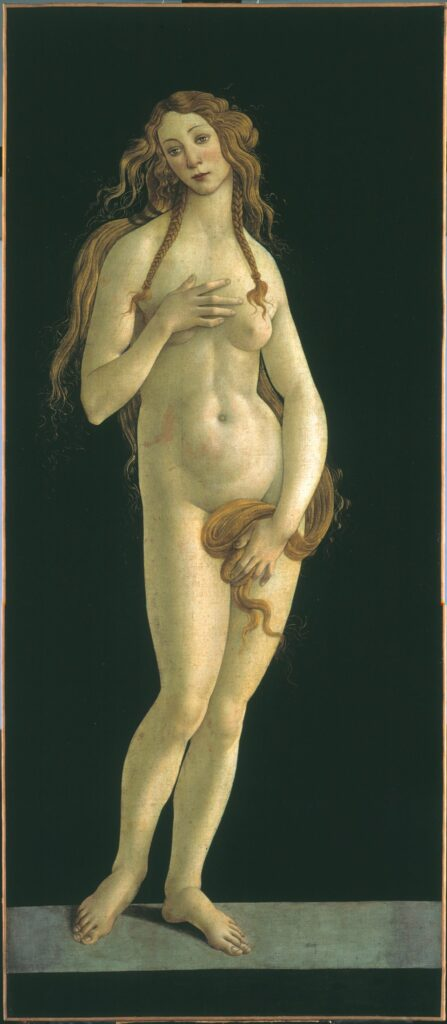 Sandro Botticelli, Vénus, vers 1490
