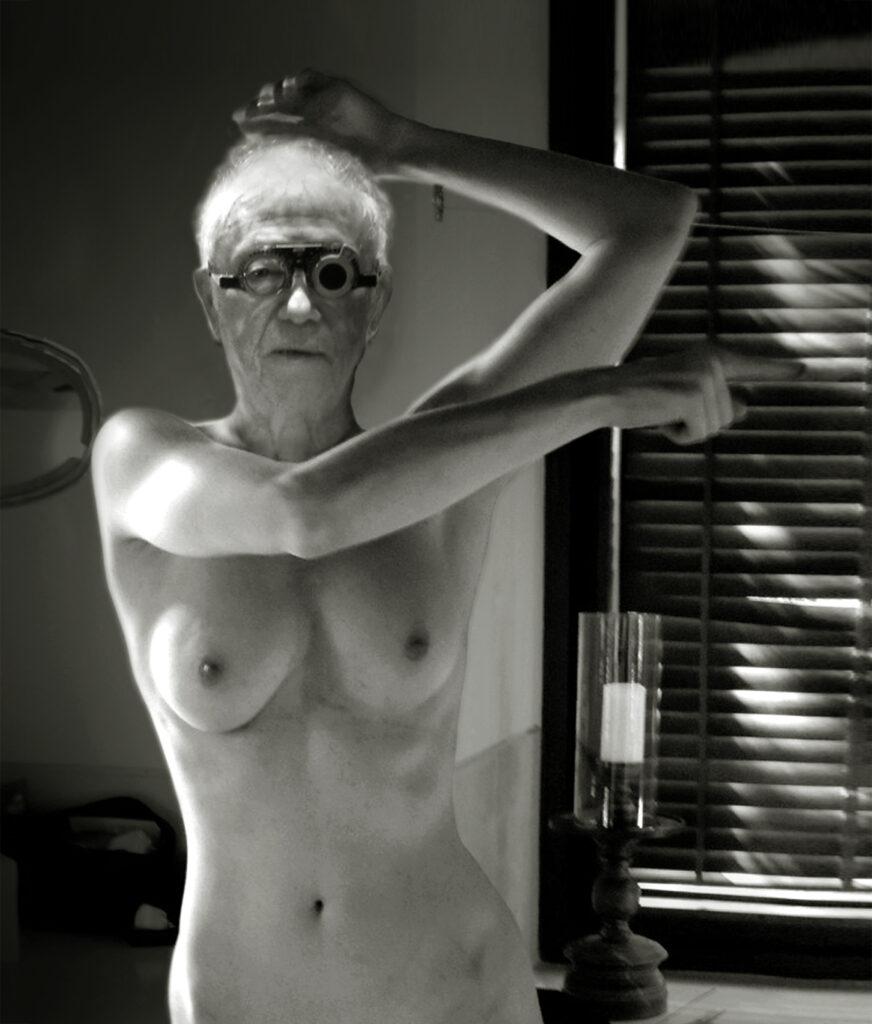 Maurice Renoma, Autoportrait