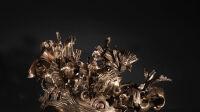 Exposition Fleurs et couronnes - Daniel Hourdé - Couronne-A_gris-©-Sylvia-Bataille