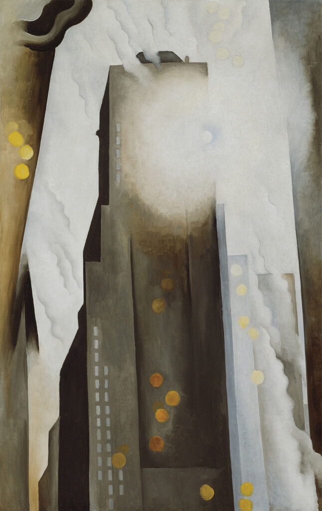 Georgia O'Keeffe, The Shelton with Sunspots, N.Y., 1926