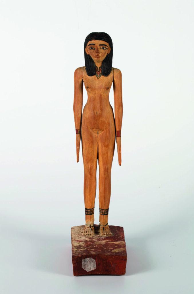 Alberto Giacometti, Statuette de la dame Hénen