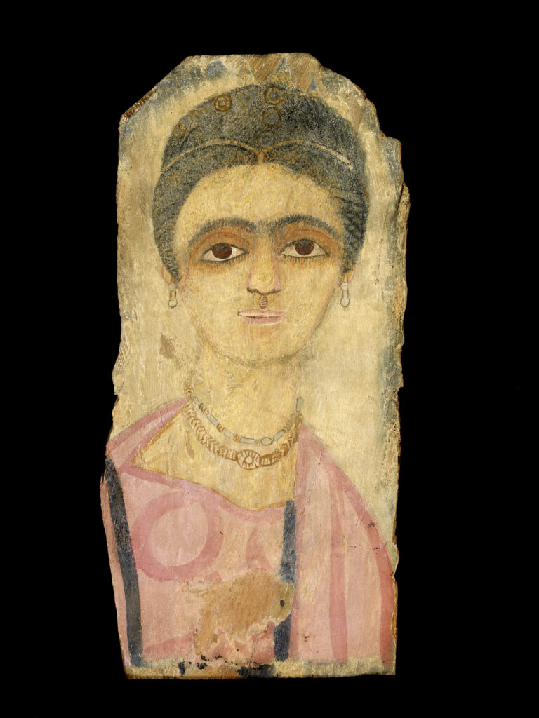Portrait de momie, femme