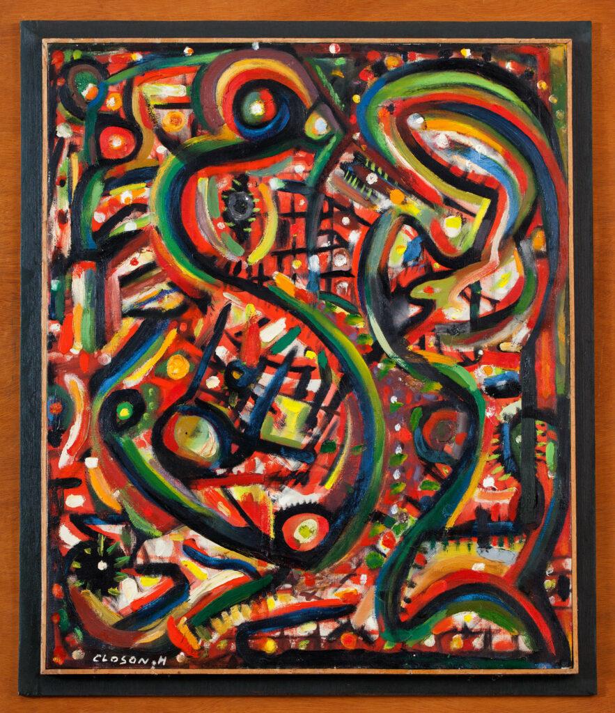 Henri-Jean Closon, Composition N°10, 1967-1974