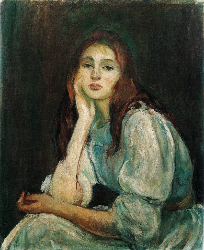 Berthe Morisot, Julie rêveuse, 1894