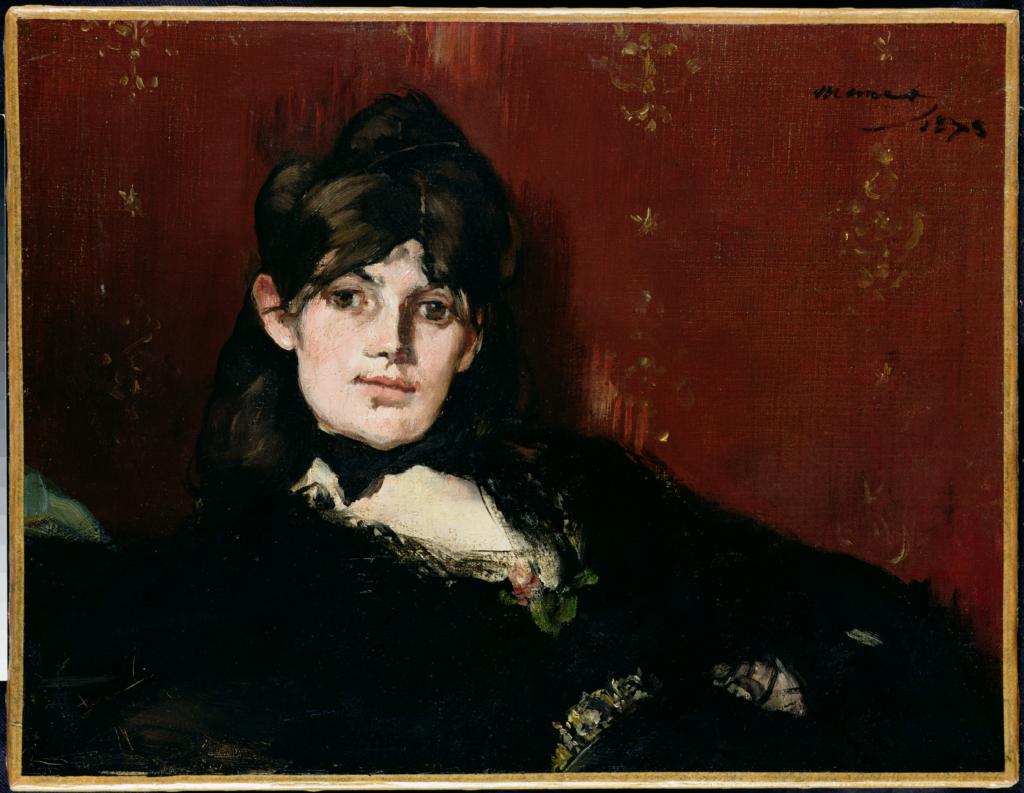 Edouard Manet, Portrait de Berthe Morisot étendue, 1873