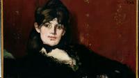 Exposition Julie Manet la mémoire impressionniste au musée Marmottan Monet - Edouard_manet_portrait_de_berthe_morisot_etendue
