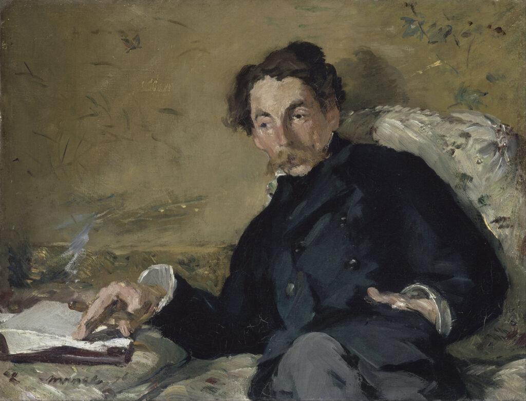 Edouard Manet, Stéphane Mallarmé, 1876
